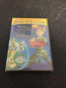 Peter Pan: Journey to Never Land WalMart Wal-Mart Exclusive Bonus DVD NEW