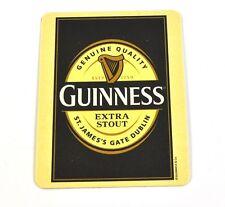 Guinness birra Birra Coperchio SOTTOBICCHIERI COASTER-soggetto Guinness Logo