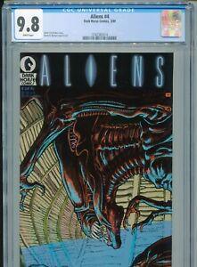 1989 DARK HORSE COMICS ALIENS #4 CGC 9.8 1ST PRINT ONLY 35 9.8s LOW POP BOX3