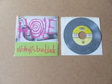 "HOLE Dicknail / Burnblack SUB POP 7"" RARE 1991 GREY VINYL USA 1ST PRESSING SP93"