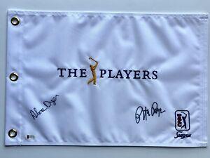 Pete Dye Alice Dye signed the Players flag golf championship 2020 pga beckett
