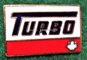 TURBO GAS and OIL CANADA Lapel Pin Mint