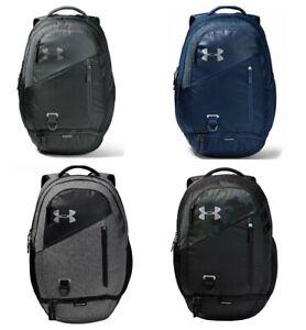 Under Armour School Backpack Hustle 4.0 Rucksack Backpacks Gym Sports Bags