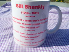 Bill Shankly Liverpool Three Quotes mug 1 11oz original (brand new)