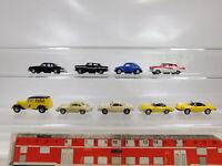 CA561-0,5# 9x Schuco 1:90 PKW etc: Porsche + Ford + VW + Alfa Romeo etc, s.g.