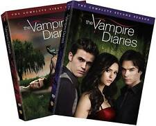 Vampire Diaries: Seasons One & Two (DVD, 2015, 10-Disc Set)