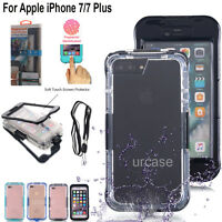 Waterproof Shockproof Dust Dirt Proof Case Full Cover Fr Apple iPhone 8 7/7 Plus