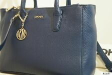 DKNY NAVY BLUE LEATHER HANDBAG TOTE SHOULDER MULTIWAY CROSS BODY BAG