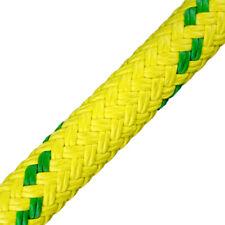 """Yale Cordage Dynasorb Rope 5/8"""", MJ Yellow, 200 ft."""