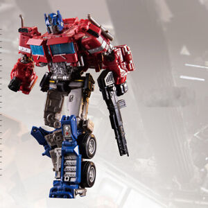 Transformers Optimus Prime voiture War for Cybertron Siege Voyager figurine