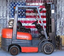 Toyota 6FGCU300 Forklift - 6000lb Capacity, LP Propane Fuel, 918 hours