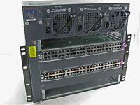 Cisco Catalyst 4006 - WS-C4006 w/ (2) WS-X4148-RJ45V - 6 Slot - 3 Power Supplies