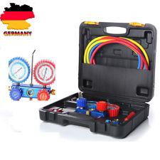 2-Wege Klimaanlage Monteurhilfe Kfz R22 R134a R404a Gauge Koffer Manometer Kit