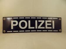 Emailleschild Polizei Bundespolizei  Polizeirevier Wache Polizeiwache