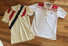 Reebok And Vollaix Retro Vintage Tennis Polo Shirts