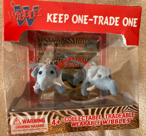 2004 WIBBLES Elephants ..KEEP ONE TRADE ONE COLLECTIBLES NEW IN BOX