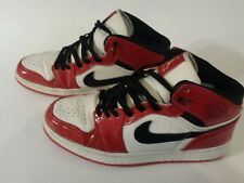 Nike Air Jordan Original Sneakers Size 10.5  Black, Red ,White