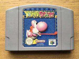 Yoshi's Story Nintendo N64 Game PAL Cart Only VGC