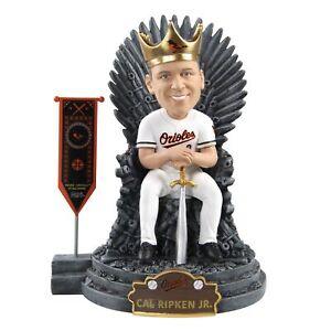 Cal Ripken Jr. Baltimore Orioles Game of Thrones Iron Throne Bobblehead MLB