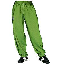 schwarz grün unterlegt Gymhose Pumperhose Sporthose Freizeithose MORDEX
