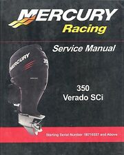 Mercury 350 Verado SCi Outboard Motor Service Manual CD