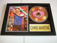 CHRIS MARTIN   SIGNED  GOLD CD  DISC 1