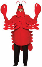 Lobster Adult Men Costum Animal Under The Sea  Zoo Rasta Imposta Cute Halloween