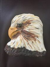 RARE Carol Halmy Porcelain Trinket Box Eagle Signed