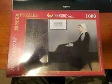 "Ricordi Jigsaw Puzzle Complete - Fine Art Puzzle Whistlers Mother 16"" X 12"""