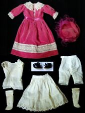 """Complete Doll Outfit for an 18"""" Antique Bisque Doll"""
