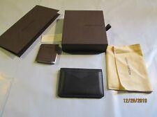 "Louis Vuitton Black ""Epi"" Leather Card Holder"