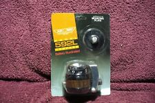 VTG NOS 50 60s 70s AIR WAY WOOD GRAIN LITED DASH COMPASS  AUTO TRUCK ACCESSORY