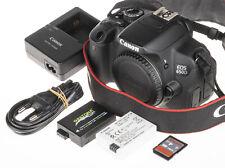 Canon EOS 650D / Rebel T4i  / Kiss X6i Camera +4Gb SD, 2×batt | 3.2k click | EXC
