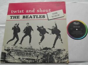 CANADA!!! Ex to NM- THE BEATLES Twist and shout 1983 Reissue ST-6054 LP