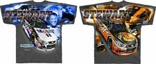 Tony Stewart 2015 Checkered Flag #14 Mobil 1/Bass Pro Shops Total Print Tee FREE