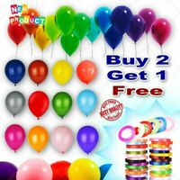 25 X Latex PLAIN BALLOONS BALLONS helium Quality Party Birthday Colourful BALOON