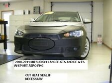 Lebra Front End Mask Cover Bra Mitsubishi Lancer DE, ES, SE w/ Air Dam 2012-2014