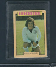 New listing 1973-74 A&BC Gum Rugby Vintage Card # 226 Malcolm Manley LEICESTER PR-FR