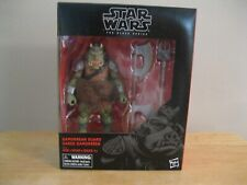 STAR WARS BLACK SERIES GAMORREAN GUARD DELUXE FIGURE GREAT CONDITION LOOK!