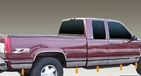 """Stainless Steel 6.25"""" Rocker Panel Set 10PC For GMC C/K Pickup Extended Cab SB"""