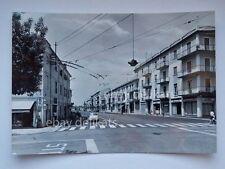 SAN BONIFACIO Via Trento auto FIAT 500 Pizzeria Tavernetta Verona cartolina