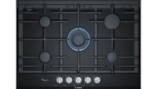 Bosch PRR7A6D70 Gas Hob Serie 8 Black Ceramic Glass 75cm