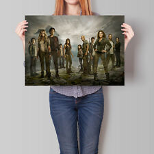 The 100 Poster TV Series Season Cast Promo 16.6 x 23.4 in (A2)