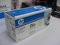 LOT OF 2 Genuine HP 06A C3906A Toner Cartridge for LaserJet 5L/6L/6L GOLD & more