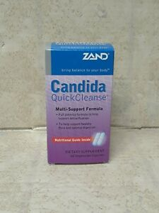 Candida Quick Cleanse Zand 60 VCaps, Exp-07/2023, #0928