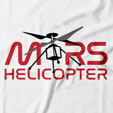 Official JPL's Mars Helicopter Ingenuity NASA T-Shirt Inisignia