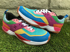 atmos x DC Shoes E. Tribeka Shoes Rainbow MultiColor Sneakers US Size 9.5 Japan