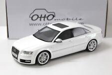 1:18 Otto Audi a8 s8 d3 White 2008 NEW chez Premium-modelcars