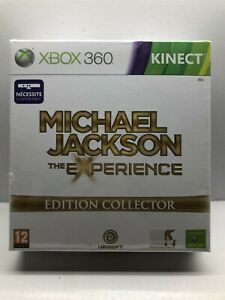 Michael Jackson: The Experience (Xbox 360, 2011) Pal French Edition - NEW Sealed