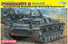 1/35 Dragon STURMGESCHUTZ 7.5cm KANONE (Sd.Kfz.142) Ausf.C/D (Smart Kit) #6851